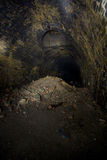 Dark Tunnel ventilation shaft Royalty Free Stock Images