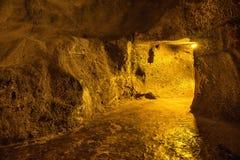 Dark underground dungeon Stock Photos
