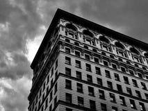 Dark urban skies Stock Photo