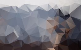 Dark vector blurry triangle background design. Geometric backgro. Und in Origami style with gradient Stock Images