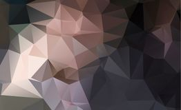Dark vector blurry triangle background design. Geometric backgro Royalty Free Stock Photo