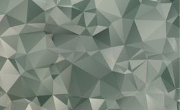 Dark vector blurry triangle background design. Geometric backgro Stock Images
