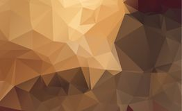 Dark vector blurry triangle background design. Geometric  Royalty Free Stock Photography