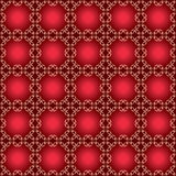 Dark vector red pattern with gradient Stock Photos