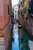 Dark Venice Channel Royalty Free Stock Photography