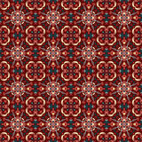 Dark vintage beautiful seamless pattern vector illustration Stock Images