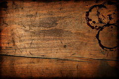 Dark vintage wood table texture Royalty Free Stock Photo