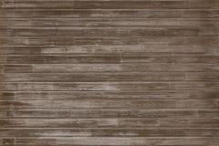 Dark vintage wood floor texture or background stock photo