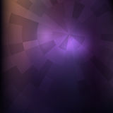 Dark violet image. Futuristic techno style. Concentric and radi Royalty Free Stock Images