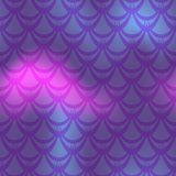 Dark violet mermaid  background. Cold gamma iridescent background. Royalty Free Stock Photos