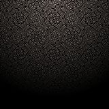 Dark Wallpaper on the wall. Royalty Free Stock Images