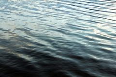 Water surface ripples waves calm texture. Dark water surface ripples waves calm texture Royalty Free Stock Photography