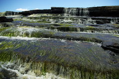 Dark waterfall Stock Photography