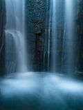 Dark waterfall Stock Image