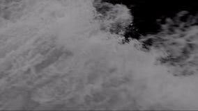 Dark waves stock video footage