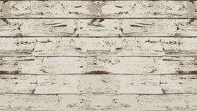Dark White Seamless Wood Texture. EPS10 Vector Stock Image
