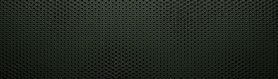 Dark wide hexagon background Royalty Free Stock Photography