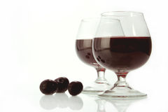 Dark wine Royalty Free Stock Image
