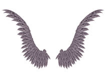 Dark Wings Royalty Free Stock Photo