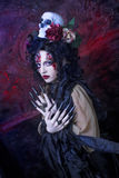 Dark Witch. Royalty Free Stock Image