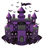 Dark Witch castle Royalty Free Stock Photography