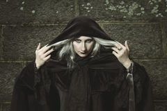 Dark witch Stock Photos