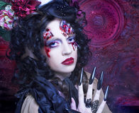 Dark Witch. Royalty Free Stock Photo