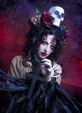 Dark Witch. Stock Images