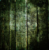 Dark wood background. Green old wooden texture macro Stock Photo
