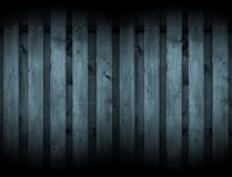 Dark Wood Background with Spotlights Stock Photos