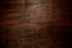 Dark wood background Stock Photography
