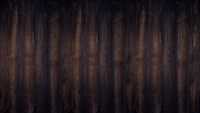 Dark wood background textured top view with empty space for back Stock Photo
