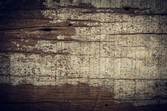 Dark wood background, wooden board rough grain surface Stock Images