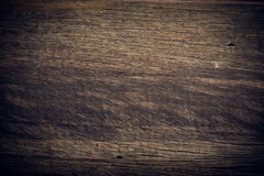 Dark wood background, wooden board rough grain surface texture Stock Photography