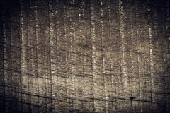 Dark wood background, wooden board rough grain surface Stock Image