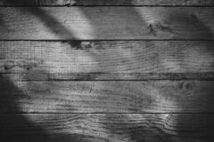 Free Dark Wood Barn Wall Plank Texture Background With Light Shiny In Night, Top View Of Old Wooden Table Stock Images - 169830884