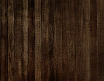 Dark wood board background Stock Images