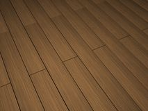 Dark wood floor Stock Images