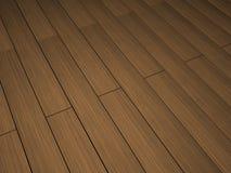 Dark wood floor. Dark wood grain floor background Stock Images