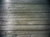 Dark wood floor Stock Photo