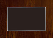 Dark wood frame Royalty Free Stock Images