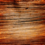 Dark Wood Grain Organic Background Texture Stock Image