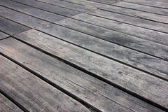 Dark wood pattern. Dark wood floor plank for background Stock Photography