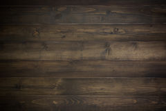 Dark wood plank. Background. Vintage filter style Stock Photography