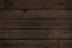 Dark wood planks Royalty Free Stock Photos