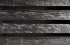 Dark Wood Planks Royalty Free Stock Images