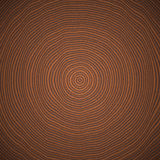 Dark Wood Radial Texture. Stock Images