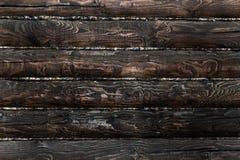 Dark wood texture Stock Photography