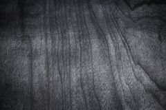 Dark Wood Texture background. Texture of black table desk. Top view dark or black wood table Stock Photo