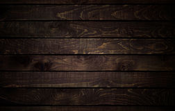 Dark wood texture. background old panels. Royalty Free Stock Image